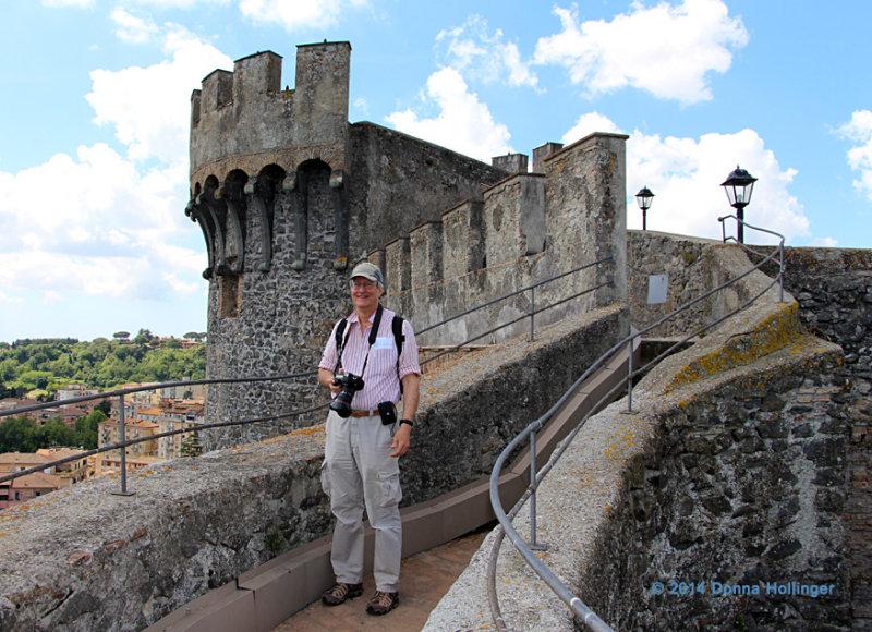 Bracciano Castelo and Peter