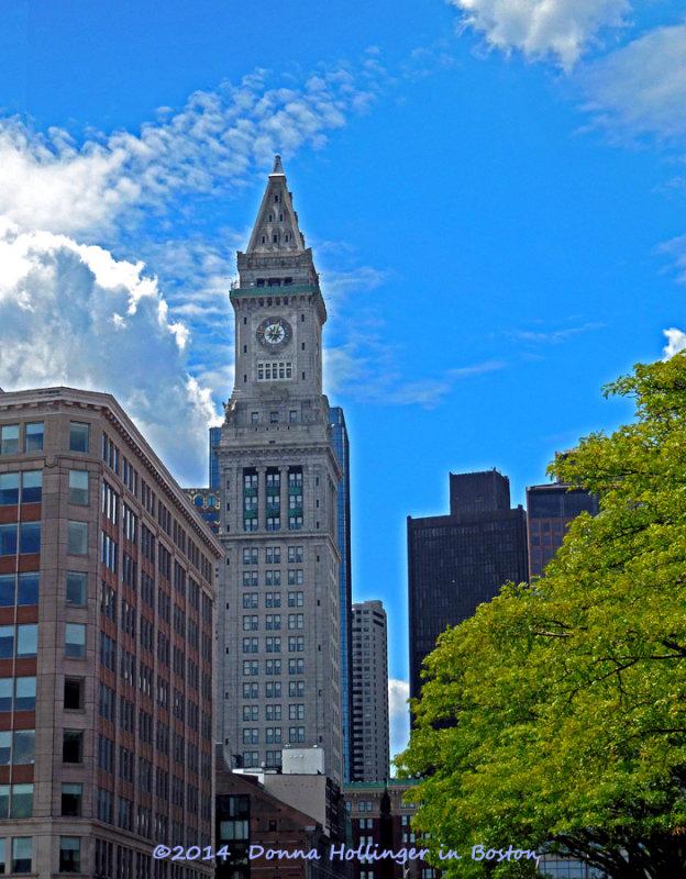 Customs House in Boston