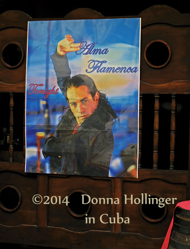 A Poster of a Flamenca Dancer that was HOT