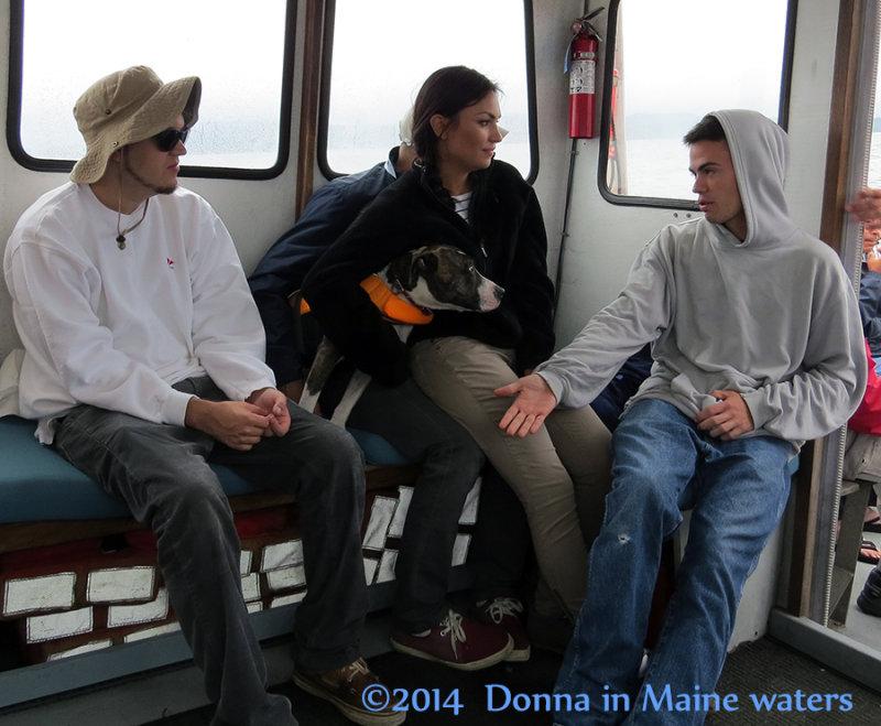 Armin, Elena (Sammy hidden) Sophie and Chamyn