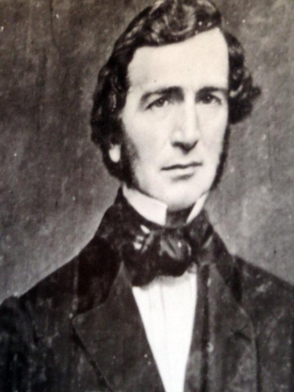 Portrait of Justin Smith Morrill