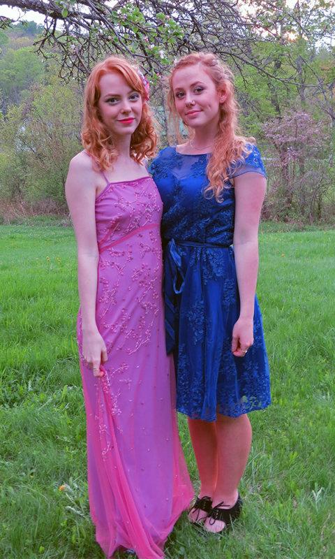Charlotte and Gabriella