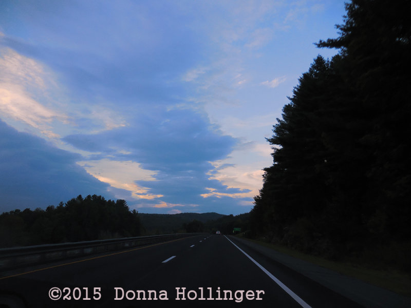 Driving 89 to Vermont