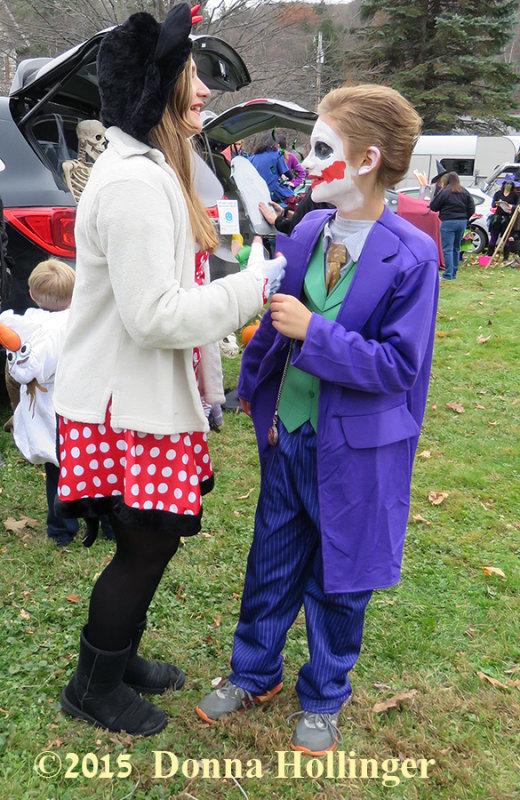 The Joker and His Makeup Artist/Hairdresser