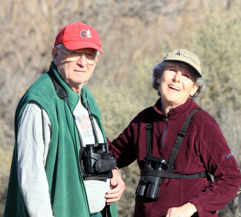 John and Cathy Birding