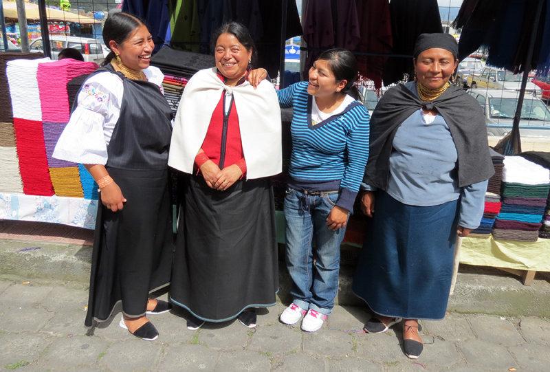 Four Women Weavers
