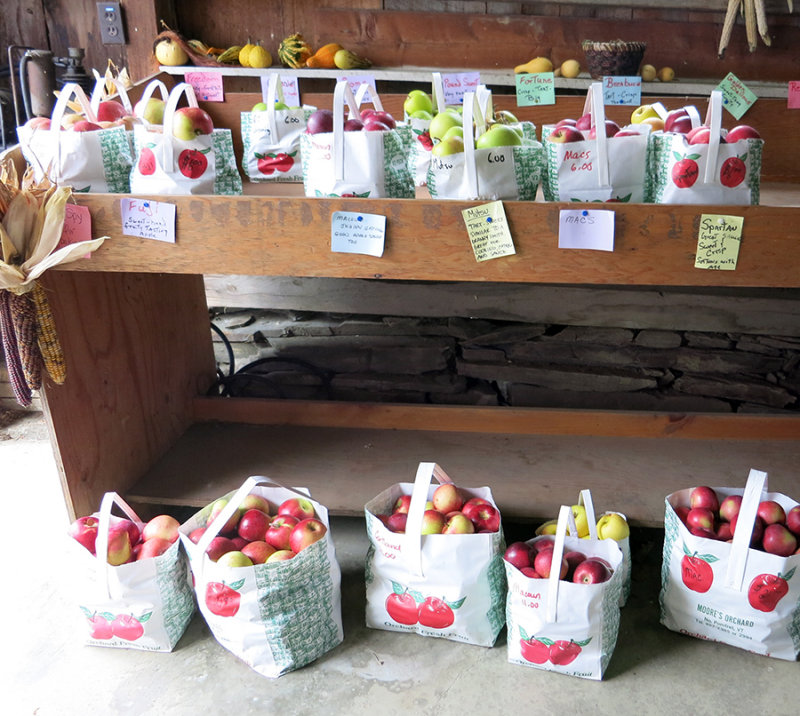 Moores apples