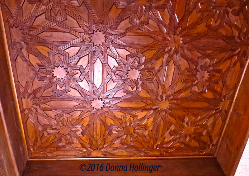 Star Pattern on Ceiling