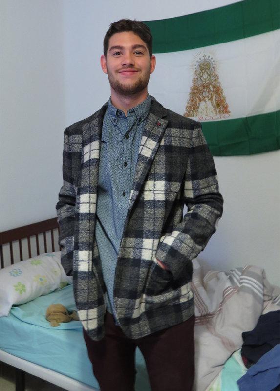 JonCarlo at Rosas in his new jacket