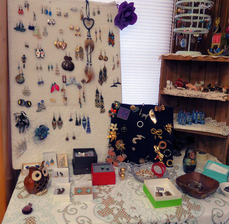 Jewelry Table by Christine and Kemba