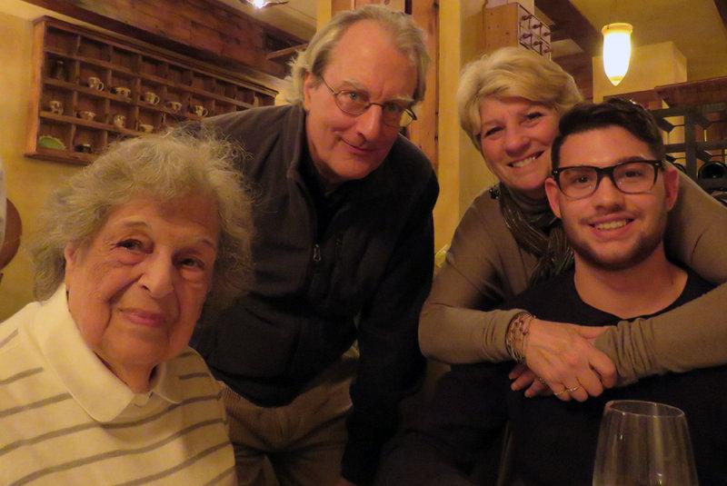 Dora, Peter, Nancy and JonCarlo At Campania