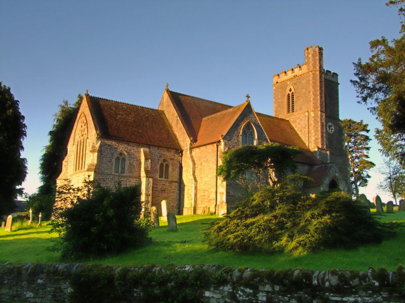 St.  Peters  Church  in  early  sunshine.