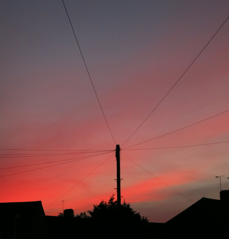 Red  sky  in  the  morning.