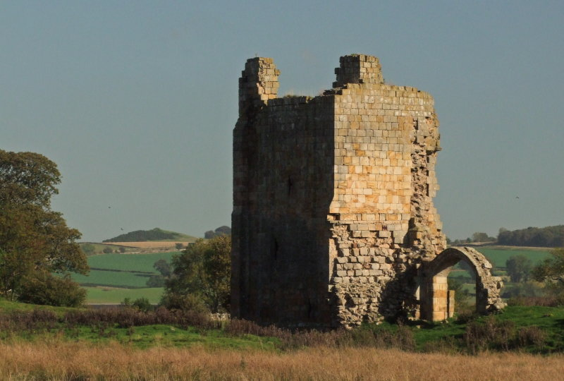 Ravensworth  Castle ; extant  remains.