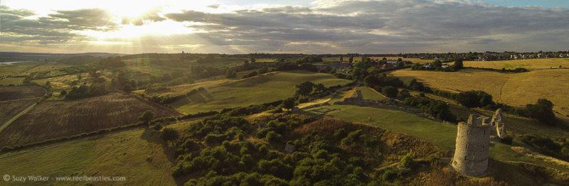 Hadleigh Castle Aerial 2