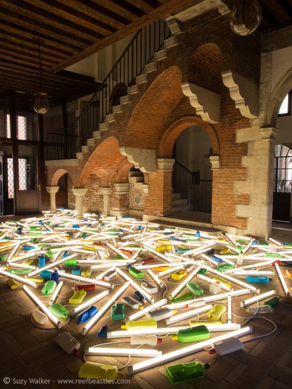 Daylight Flotsam Venice 2013 - Bill Culbert - Venice Biennale