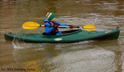 Kayaking in Alton  Baker Park