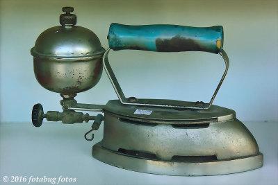 Vintage Coleman Self-heating Iron