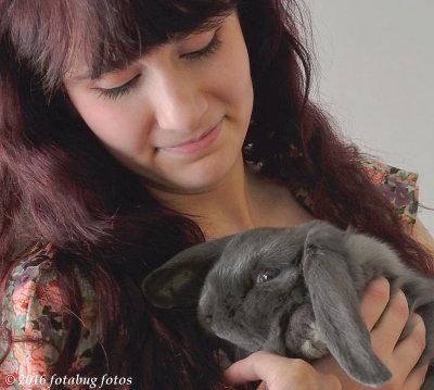 Mikayla and Rhubarb