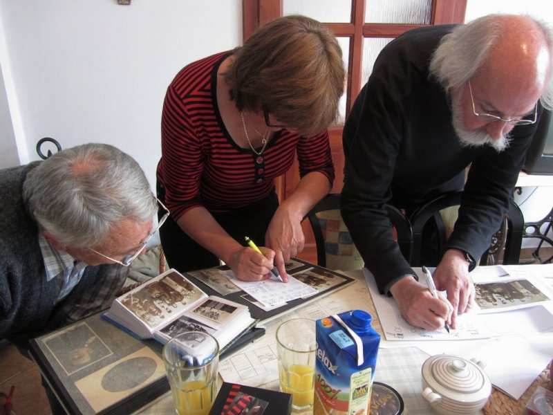 Věra and her brothers have excellent documentation of our common family history