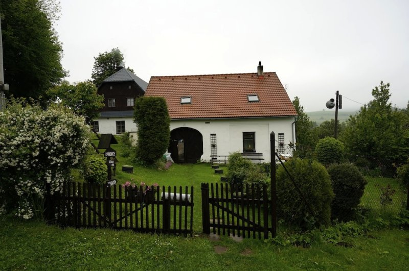 heres land in Líšná where a family house probably once stood