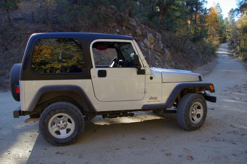 Autumn Jeep