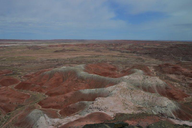 View from near Painted Desert Inn