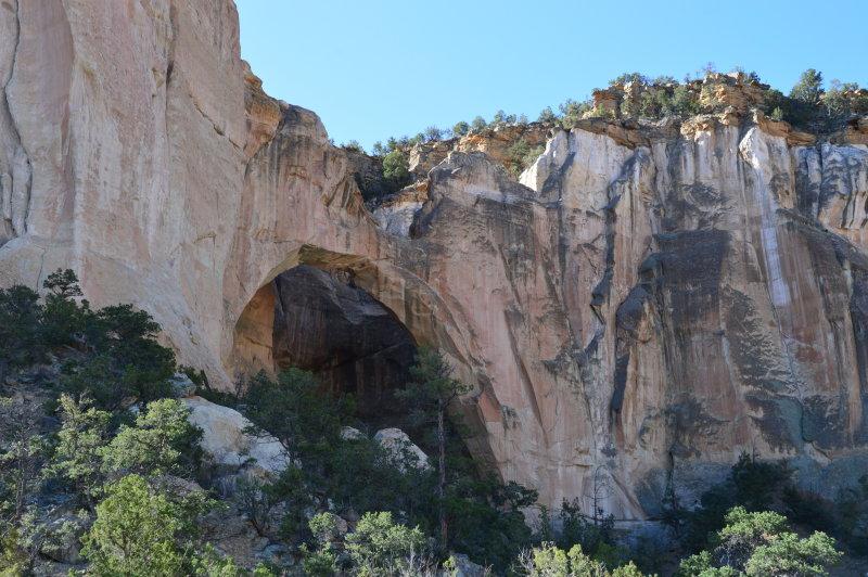 La Ventana Arch in El Malapais National Monument, New Mexico