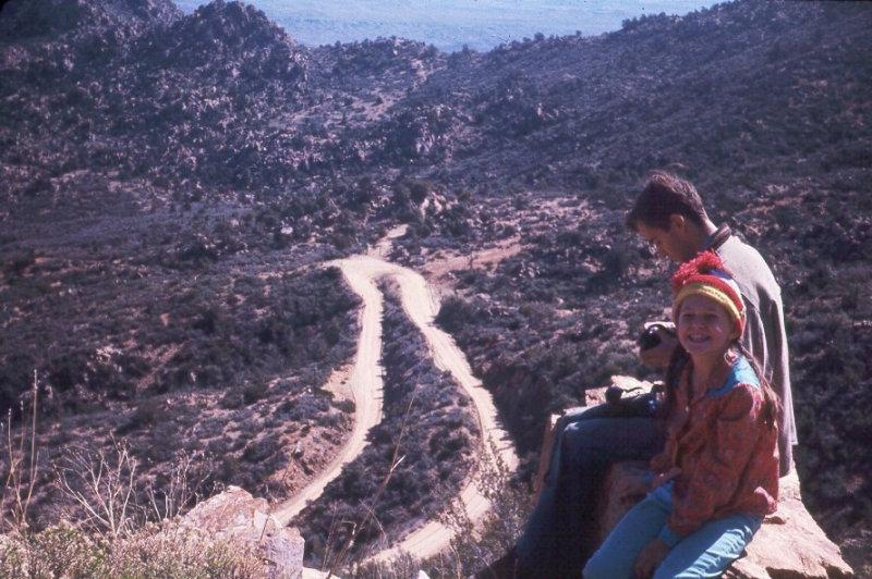 1970 Senator Highway to Crown King. Johnny, Tammy