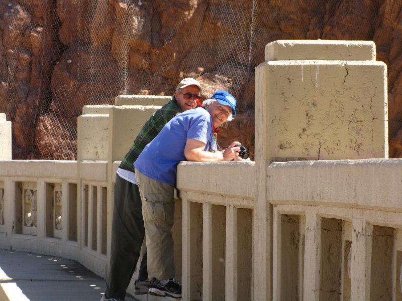 2012 Johnny, Shirley. Coolidge Dam