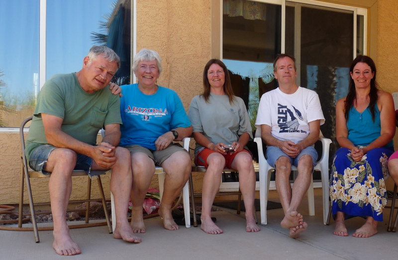 2009 Davids House. Apache Junction. Brothers and sisters