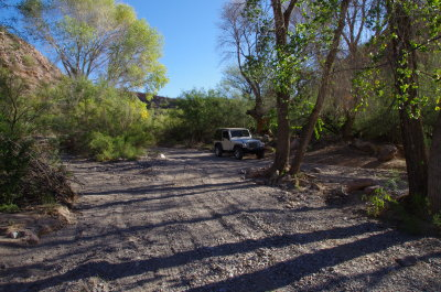 Road to White Canyon Wilderness