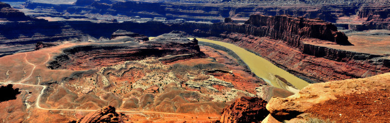 Dead Horse Point State Park,U,Colorado River