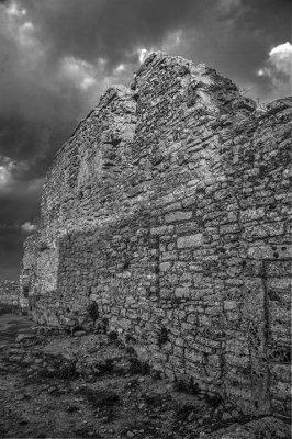 Interior wall - Castello di Venere