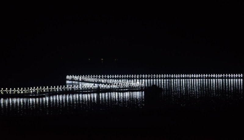 Night Show on Li River
