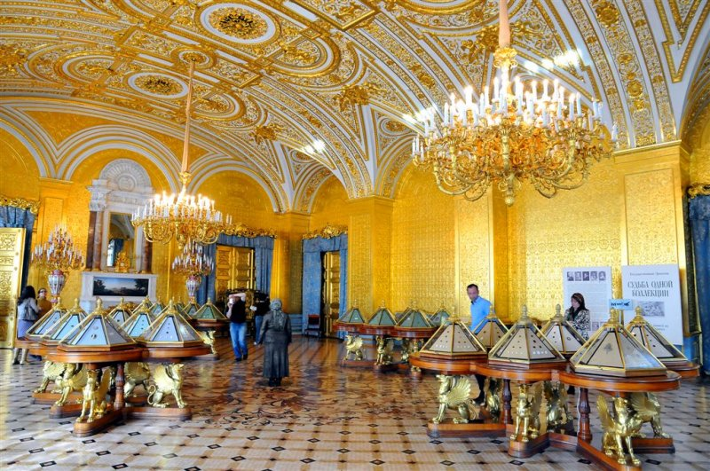 Coin Exposition in Winter Palace
