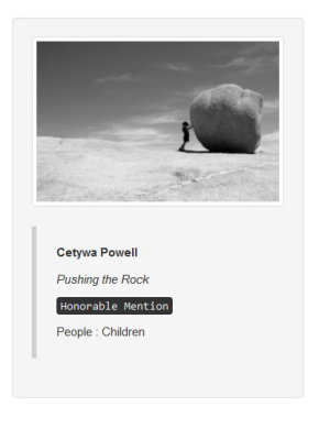2015 International Photography Awards - Honorable Mention