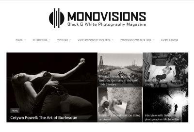 Monovisions Black & White Photography Magazine