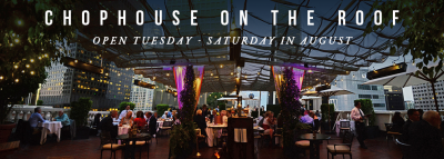 Chophouse restaurant ad