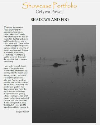 Shadow and Light Magazine Nov/Dec issue