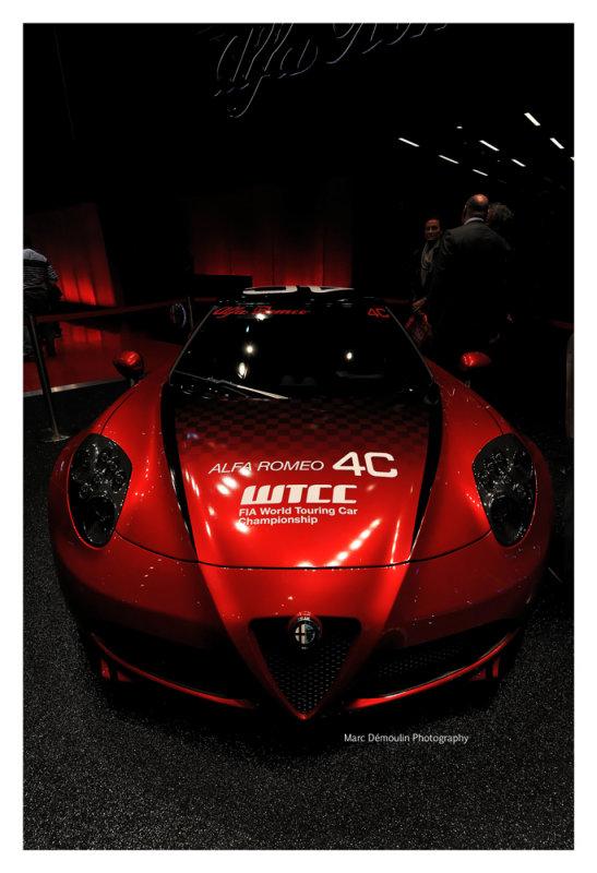 Alfa Romeo 4C, Paris 2014