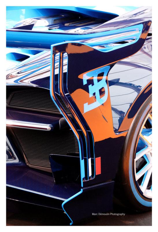 Bugatti Vision Gran Turismo, Paris 2016
