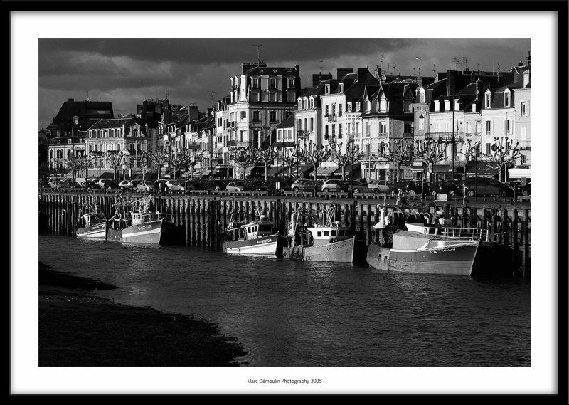 Harbour, Trouville France 2005