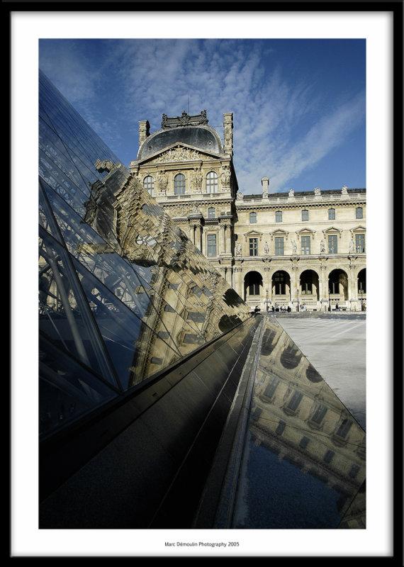 Le Louvre, Paris, France 2005