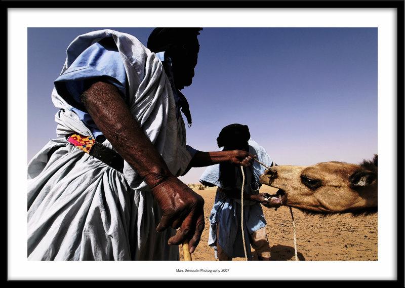 Near the well at Boutikakmene, Mauritania 2007