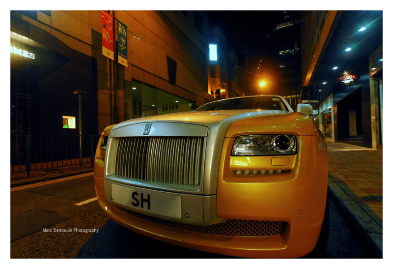 Rolls Royce Ghost, Hong-Kong 2011