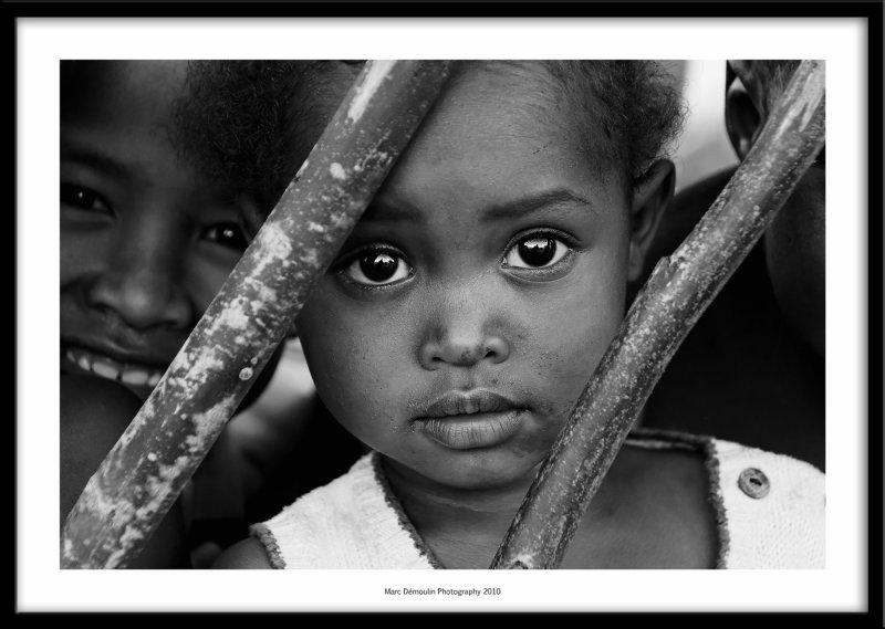 Young girl in Ambohimahasoas market, Madagascar 2010
