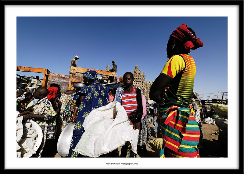 Market, Djenne, Mali 2009