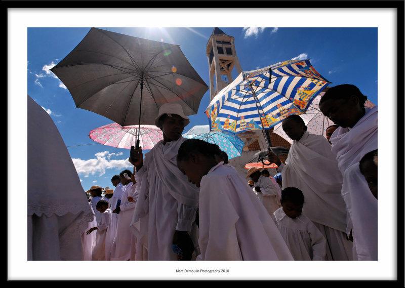 Procession, Soatanana, Madagascar 2010