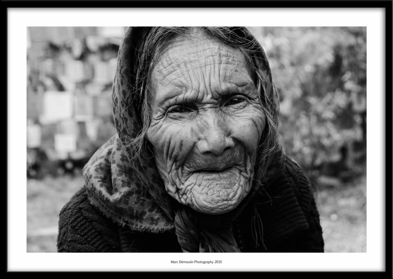 Old lady, Rewalsar, India 2015